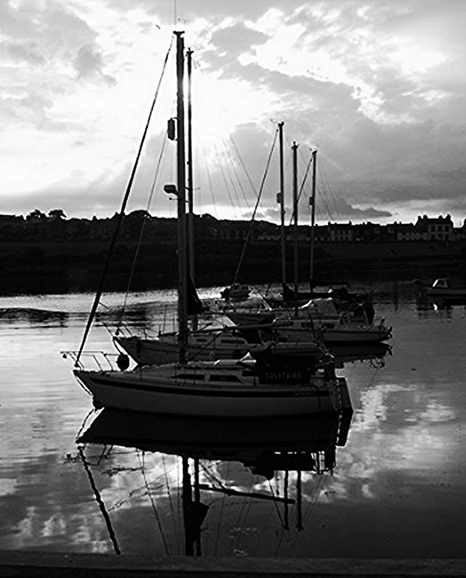 Yachts at Whithorn copy