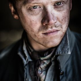 The actor Rupert Grint on the set of Instruments of Darkness