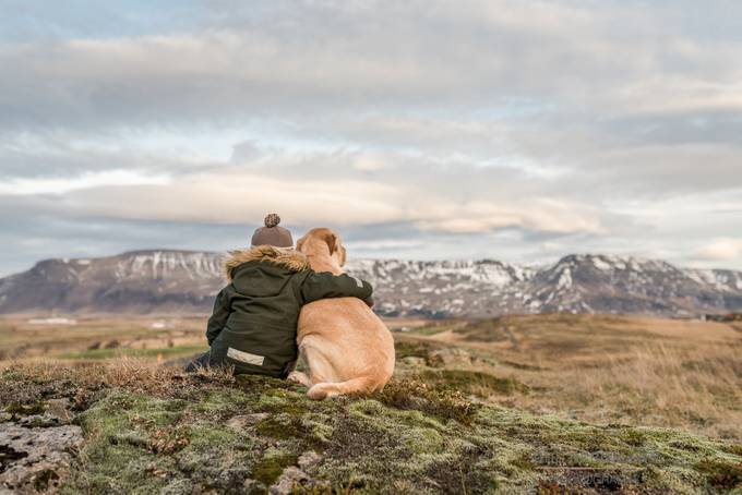 Friends enjoying nature by IrisBergmann - Kids And Pets Photo Contest