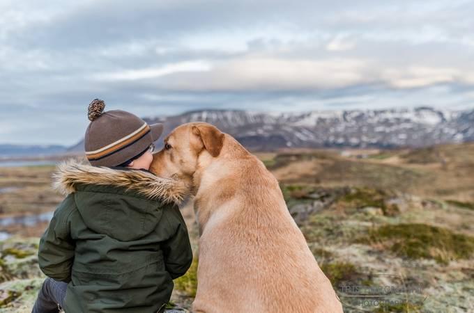 A little bit of love by IrisBergmann - Children In Nature Photo Contest