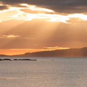 From Arisaig looking over to Eigg