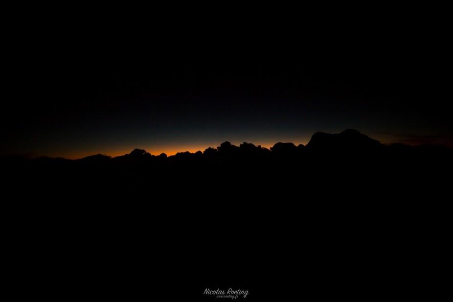 Moutains Sunrise