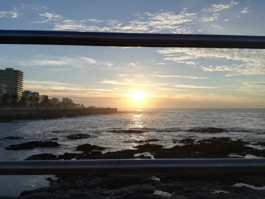 Seapoint at sunset