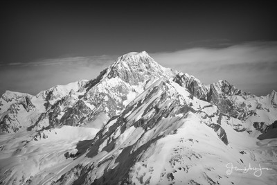 Mont Blanc from Italian side