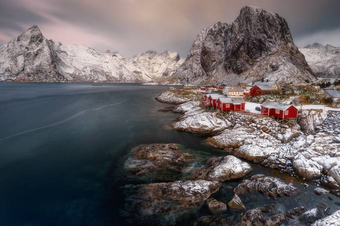 Hamnøy sunrise by MaurizioCasulaPhoto - Towns In The Winter Photo Contest