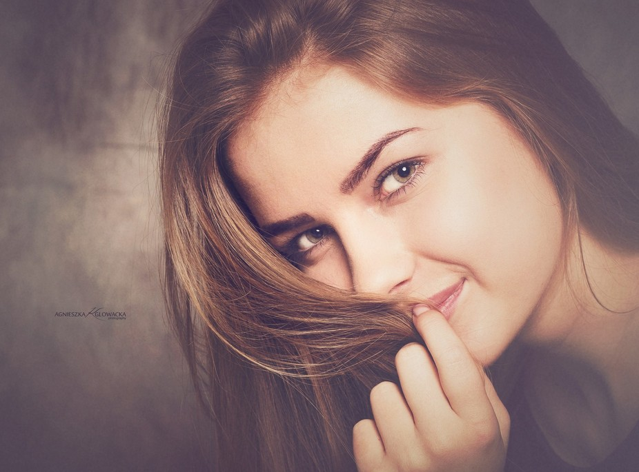 ...a woman is most beautiful when she smiles...
