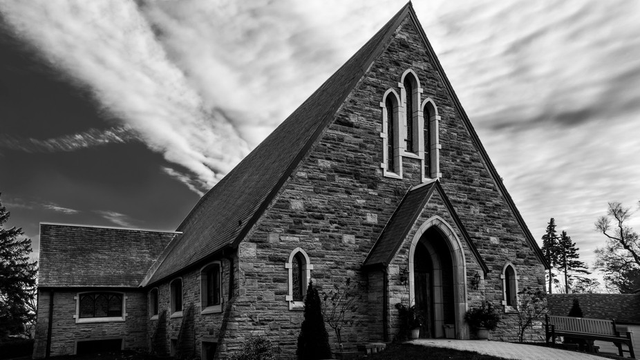 This photo is of the United Church in Orono, Ontario.