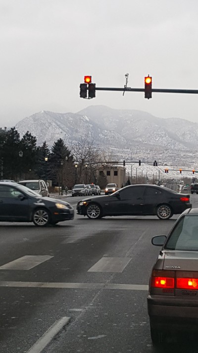 Foothills snow