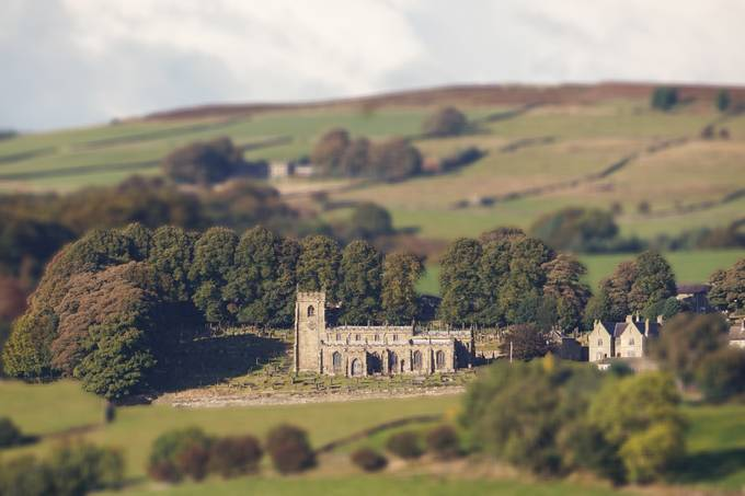 St Nicholas' Church, High Bradfield by necru - TiltShift Effect Photo Contest