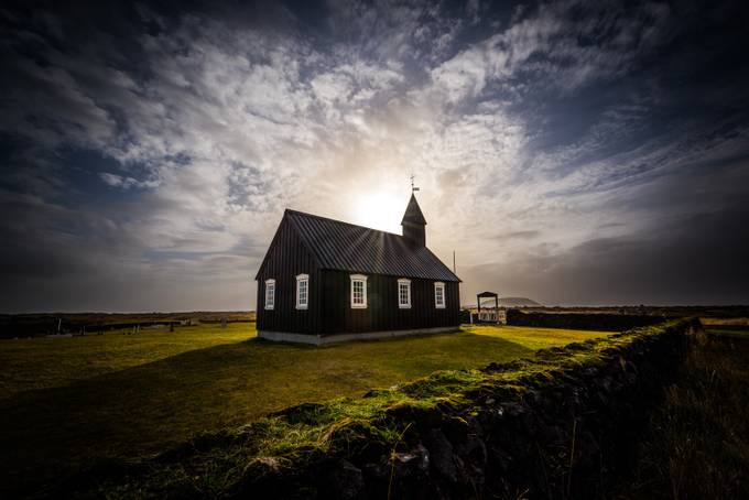 Black Church of Iceland by CherylO - My Best Shot Photo Contest Vol 2