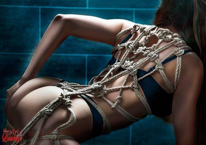 Fine Art Of Bondage On Bound To Leg Wall Ixxx 1
