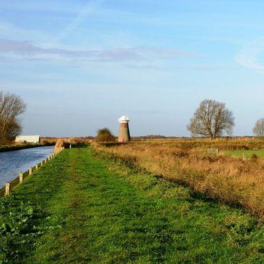Mill at West Somerton, Norfolk, UK.