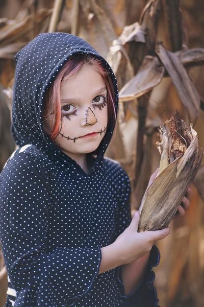 Dark scarecrow