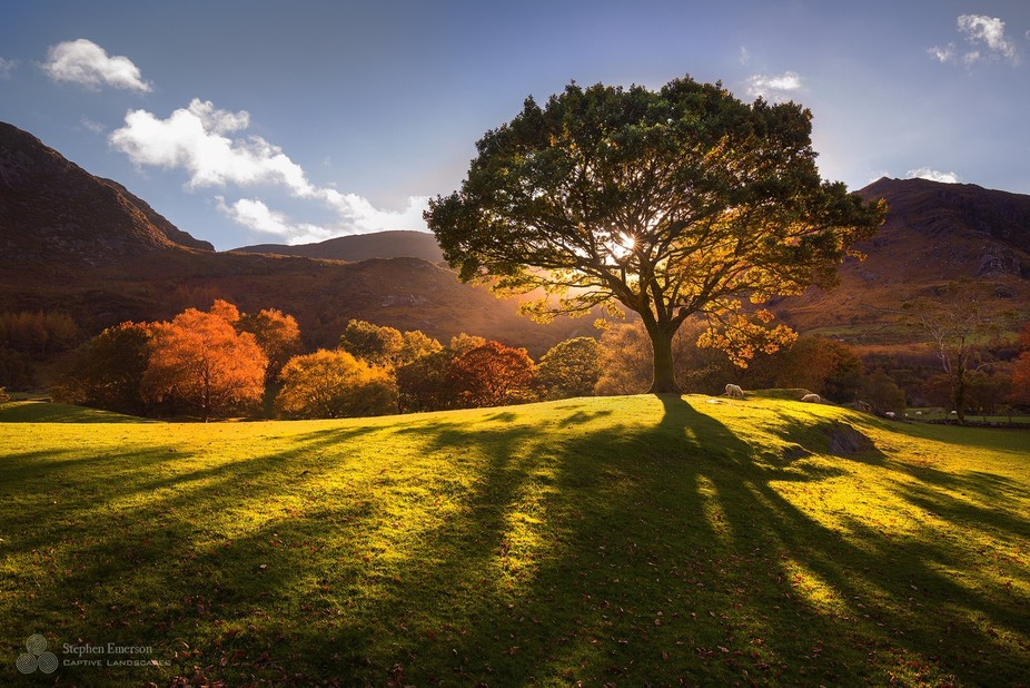Beautiful colour and light at Gleninchaquin Park, County Kerry.