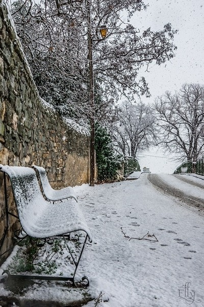 snow in the south of france