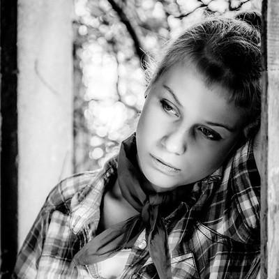 country girl b w