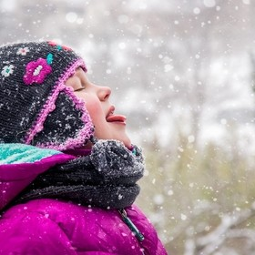 nothing better than catching snowflakes with your tongue!
