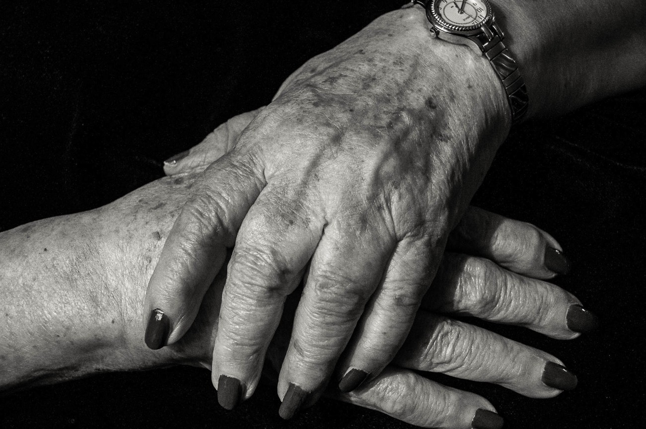 My mother always kept her nails nicely manicured and when she could no longer do it herself we (my sisters and I) would do it for her.  It was a lovely time for all of us - a closeness we will always cherish.
