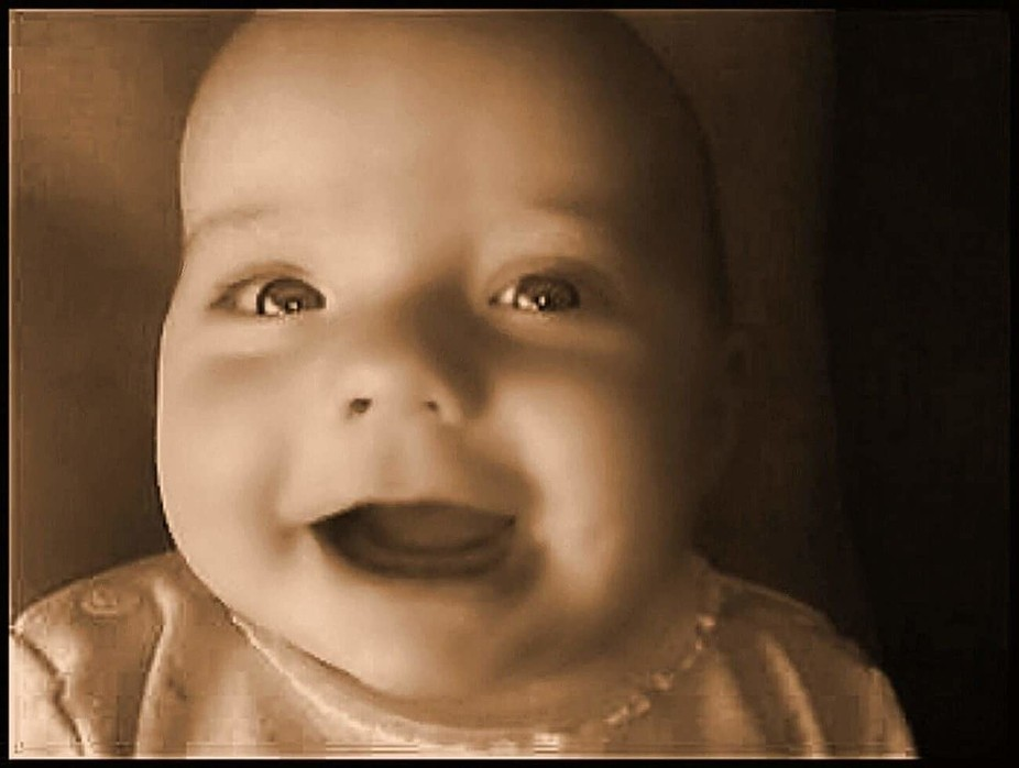 A baby's smile
