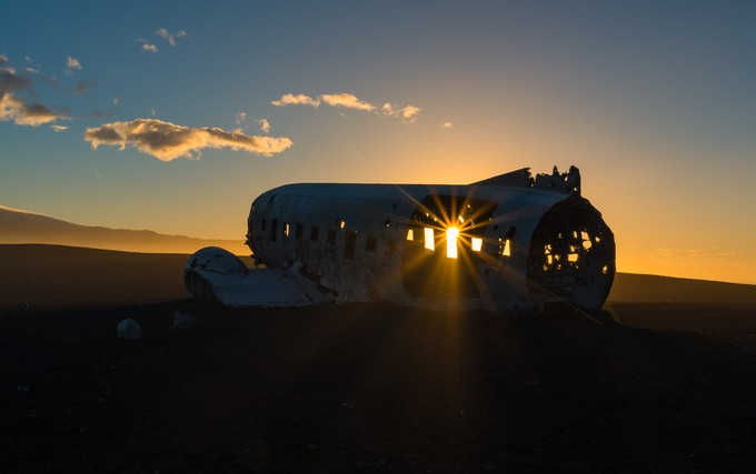 Sunrise Iceland by russellpearson - Aircraft Photo Contest