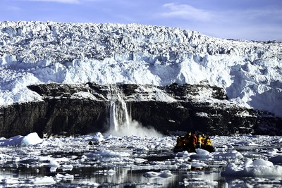 Maghna Dan Glacier 'calving'