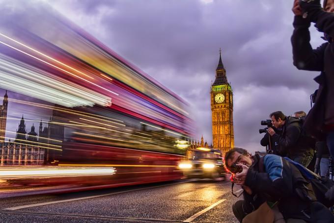 Big-Ben trails by farigiovanni - Capture Motion Blur Photo Contest