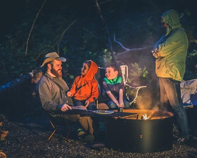 Story Tells around The CampFire