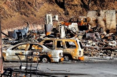 Wildfire Destruction