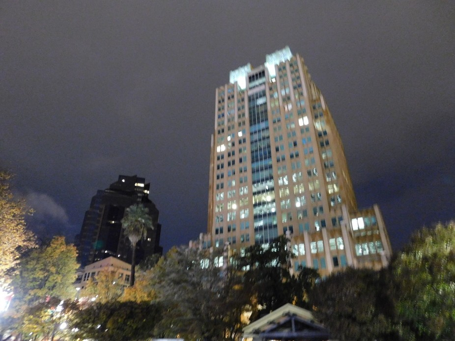 High Rise view from Ground Level