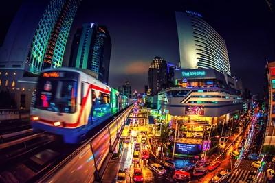 Asok Station Thailand