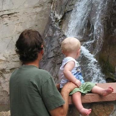 Seven Falls in Colorado Springs, Colorado.