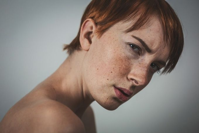 """Power"" by Marcel_A_Vie - Faces With Freckles Photo Contest"