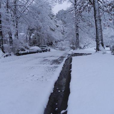 2014 Snow in Birmingham, AL