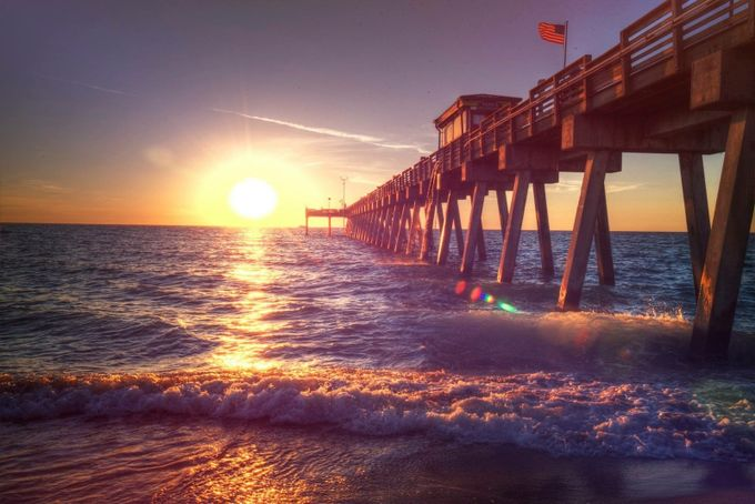 Florida sunsets by Boomsauce - The View Under The Pier Photo Contest