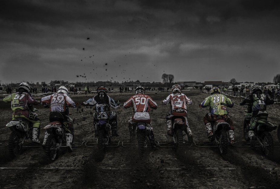 a couple of years ago I went and took some pictures at a motorcycle race.this is the best one fro...