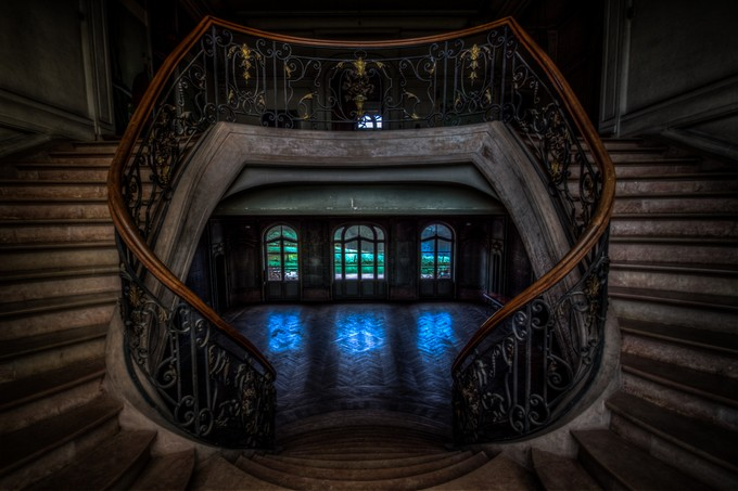 chateau du loup by elscasaert - Stairways Photo Contest