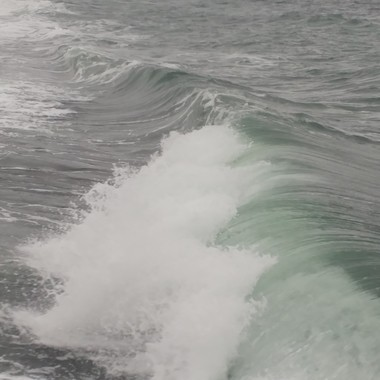 GIANT WAVES of French Creek first week of Dec 2016