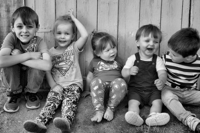 Kids just being themselves.