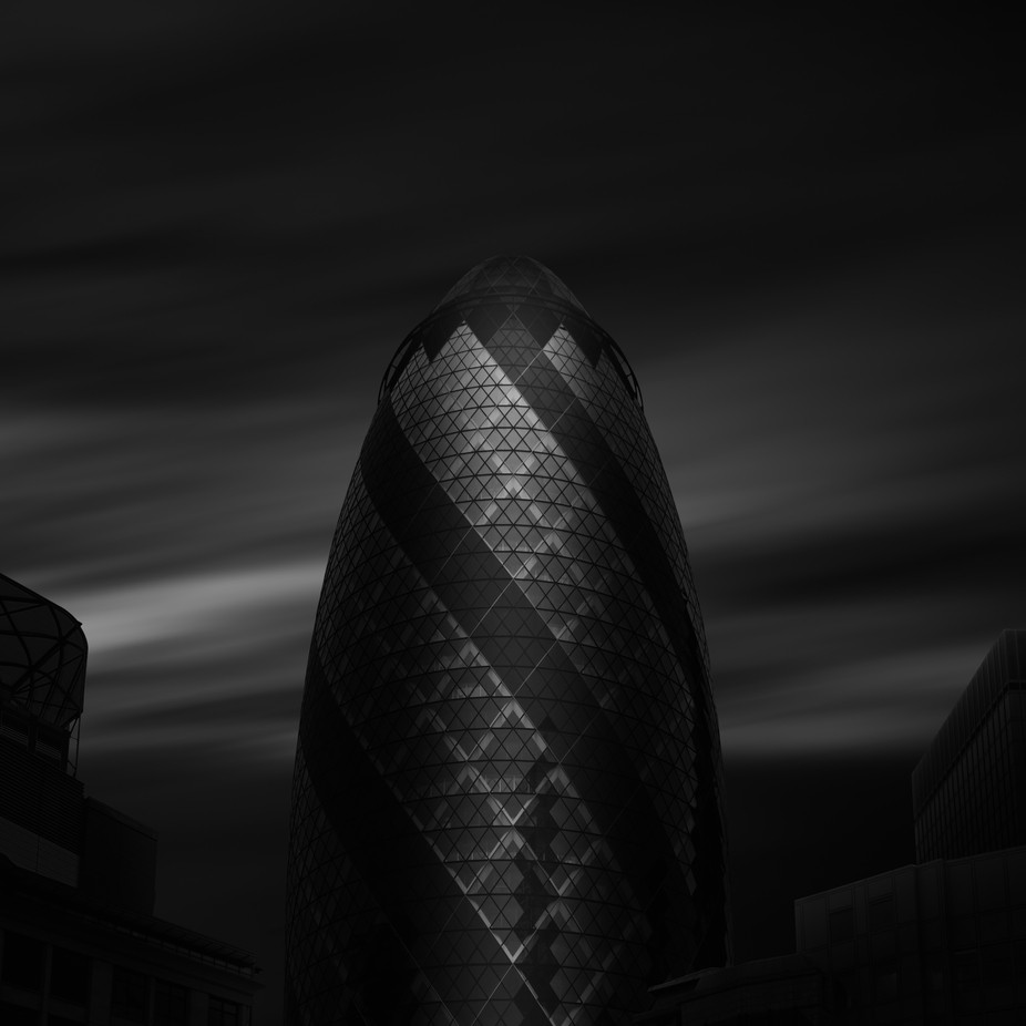 The Gherkin by farigiovanni - London Photo Contest