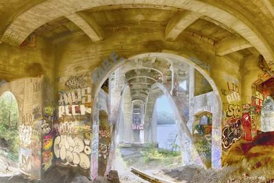 Under the Ford Bridge