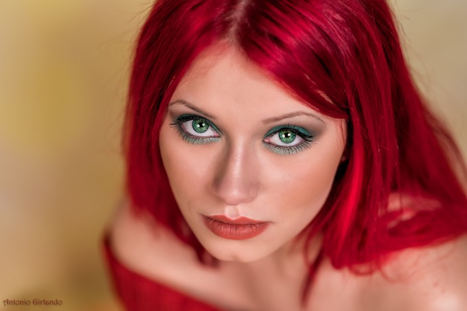 Green eyes by antoniogirlando - Green Eyes Photo Contest