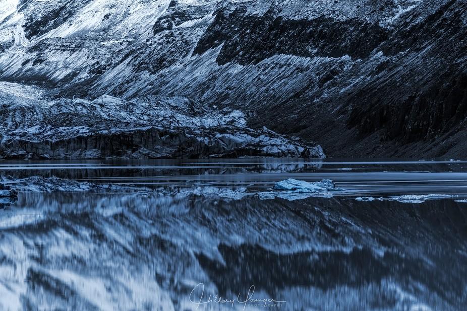 Aoraki Mt. Cook National Park, New Zealand. 'There is a strange stillness that swirls ar...