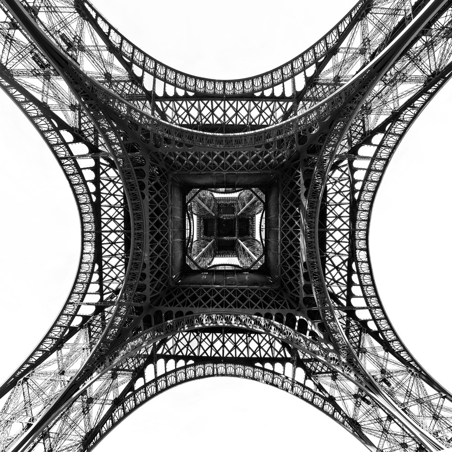 Abstract Eiffel by octavboban - Paris Photo Contest
