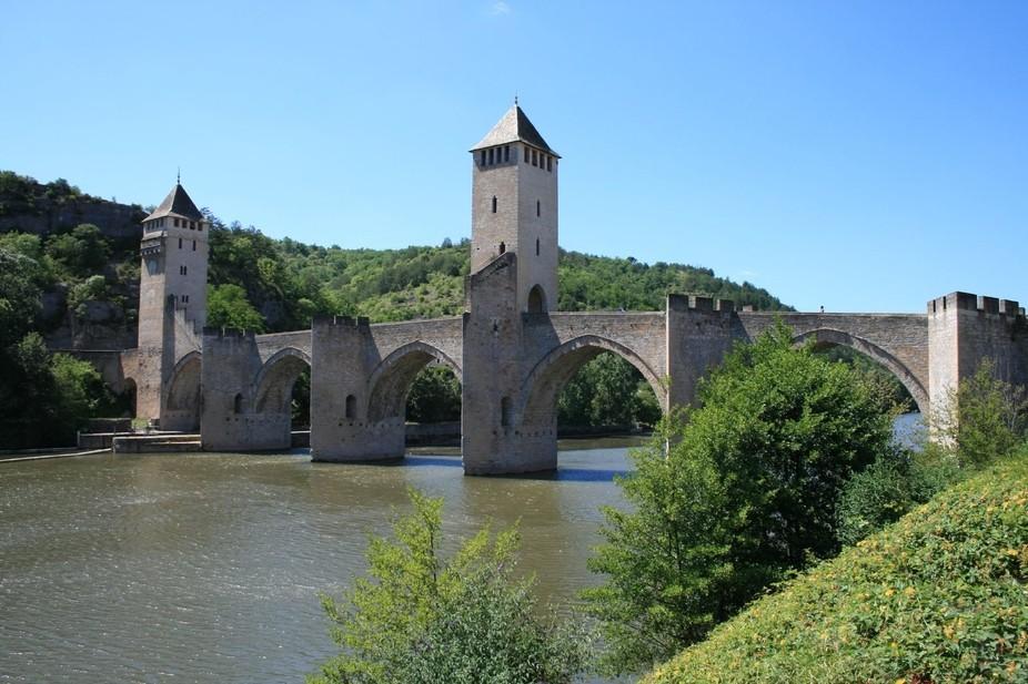 14th Century Bridge at Cahores