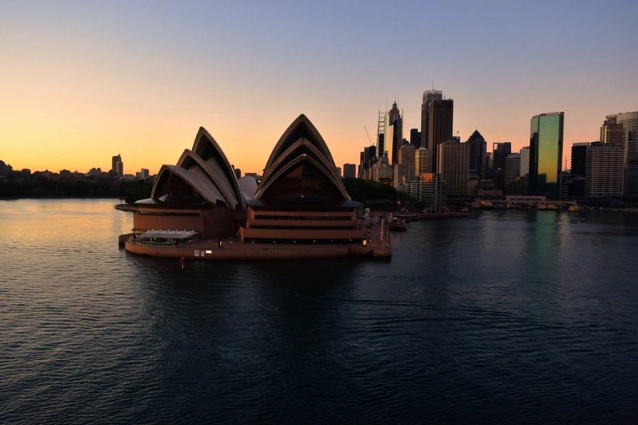 Dawn over Opera House