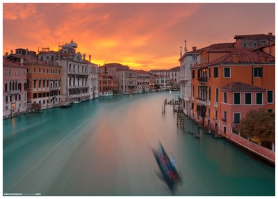 Fire over the Grand Canal