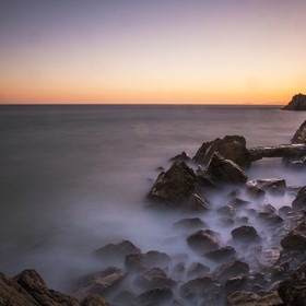 A long exposure I took off the southern California coast, just north of Malibu.