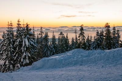 Sunset Grouse Mountain