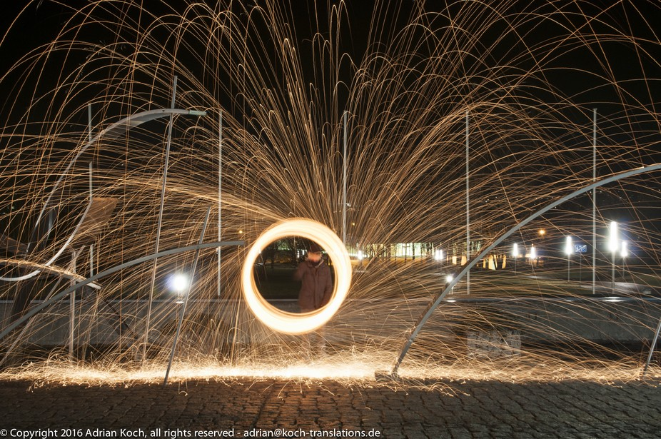 Steel Wool Pictures at our local University