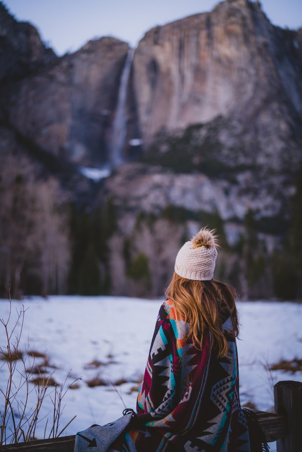 Yosemite by ianchen0 - People And Waterfalls Photo Contest